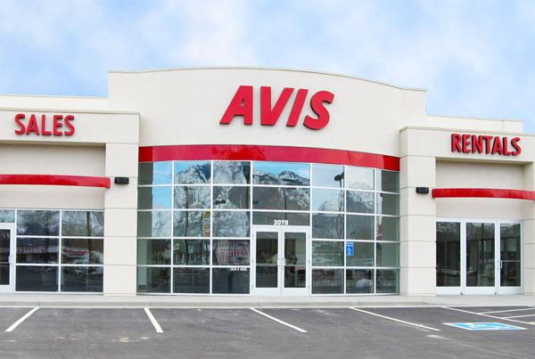 Avis Car Dealership