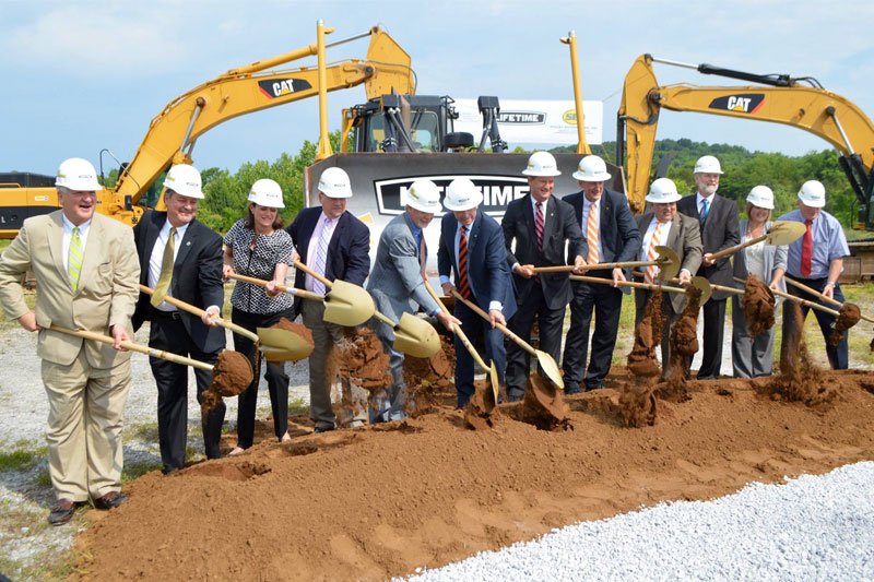 Lifetime Products Manufacturing Facility ground breaking