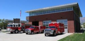 Ogden City Fire Station exterior